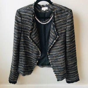 LOFT Tweed Blazer Jacket